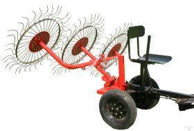 Ворошилка колесно-пальцевая ВМ-3 для мотоблока   (213.00.00.00 )
